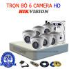 Trọn bộ camera Hikvison 6K