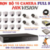 Trọn bộ camera Hikvison 16K